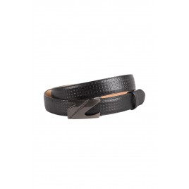 Men's Black Formal Belt