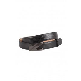 Men's Black Formal Belt