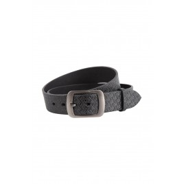 Black Casual Belt For Men