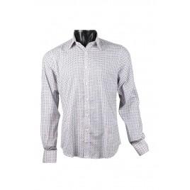Casual White Printed Shirt