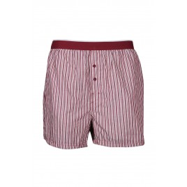 Gents Red Striped Boxer