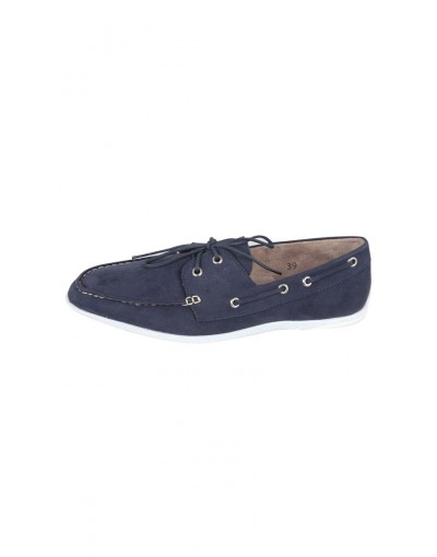 Stylish Round Laced Loafer