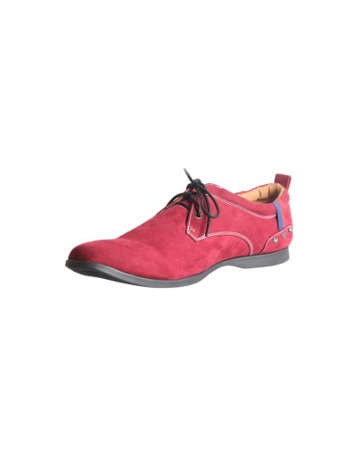 Maroon High Neck Casual shoe