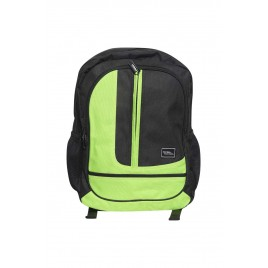 Gents Black Green Stylish Backpack