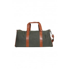Gents Olive Color Travel Bag
