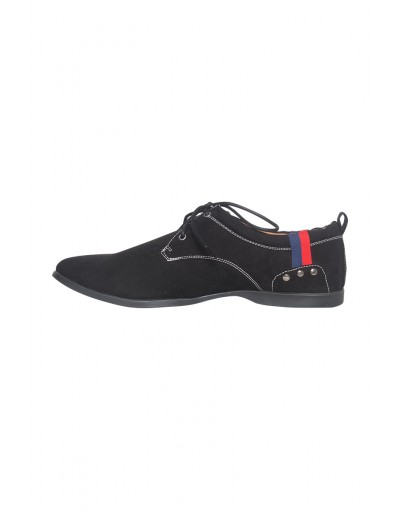 Black High Neck Casual Shoe