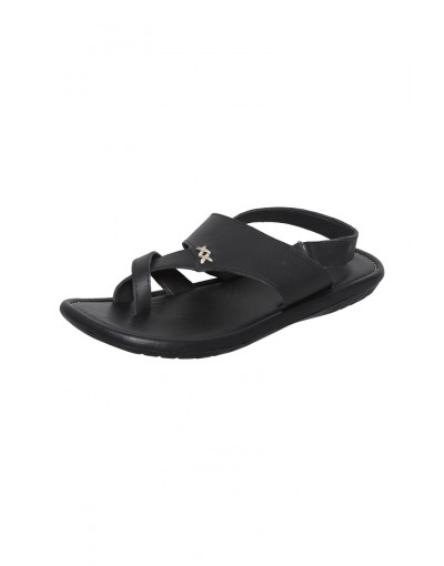 Gents Black color sandal