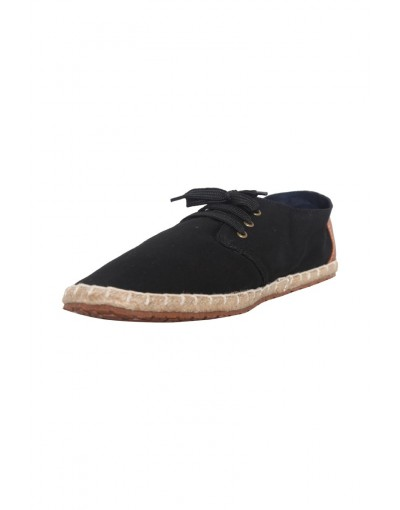 Gents Black color Espadrille