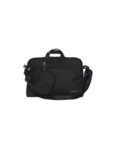Smart & Classic Black Laptop Bag