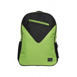 Stylish & Smart Green-Black Backpack