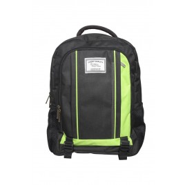 Black Green Stylish Backpack