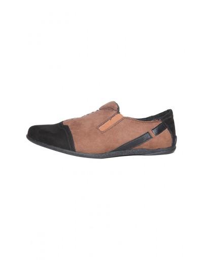 Black Brown Sneakers for Men